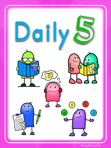 UNOFFICIAL adaptation of Daily 5 Posters FREEBIE