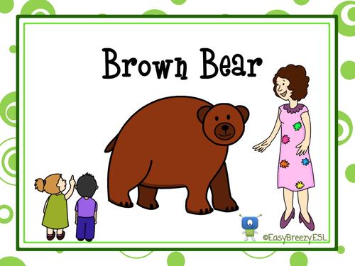 brown bear brown bear lesson