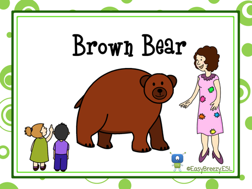 Brown Bear Activities & Posters
