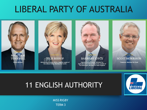 Political issues and the Liberal Party of Australia