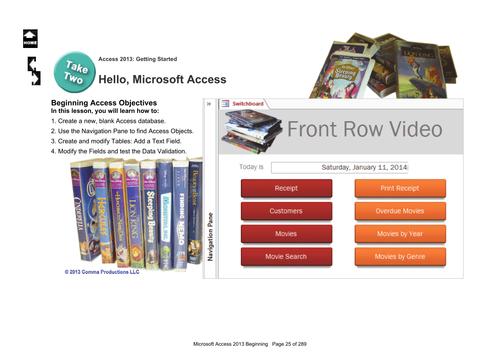Microsoft Access 2013 Beginning: Hello, Access!