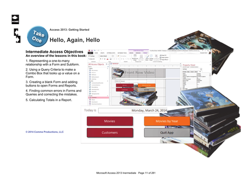 Microsoft Access 2013 Intermediate: Hello, Again!