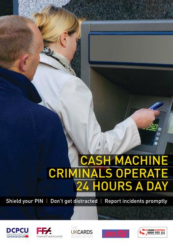 ATM Leaflet - Out Of Your Pocket