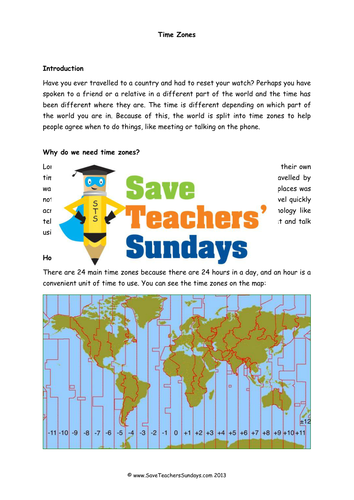 Time zones ks2 lesson plan information text and question answer time zones ks2 lesson plan information text and question answer frame by saveteacherssundays teaching resources tes gumiabroncs