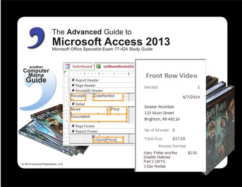 Microsoft  Access 2013 Advanced