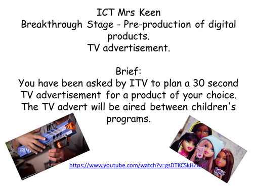 Year 7 ICT/I-media Life Without Levels Mastery Approach Breakthrough Stage