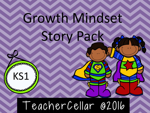 A Growth Mindset Story Pack