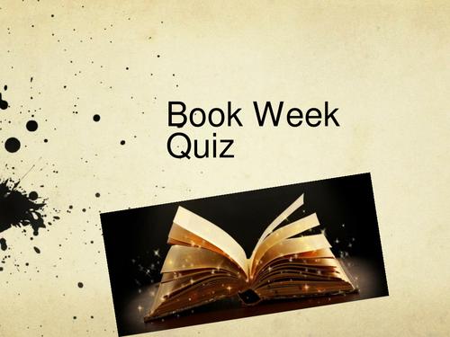 Literature Quiz (KS3 and KS4)