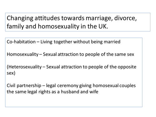 Intro to marriage and the family unit