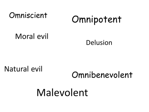 Evil and suffering assessment