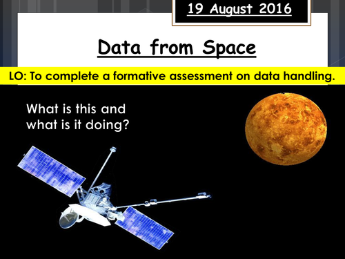 Data from Space Quality Mark Assessment (FULL RESOURCE PACK)