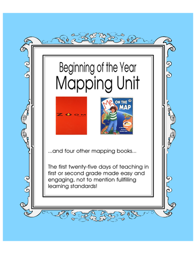 Mapping Unit for the First 25 Days of Teaching First or Second Grade