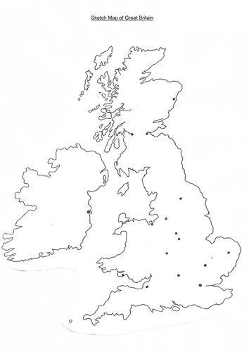 Sketch Map of GB