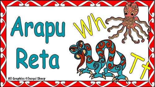 Māori Arapu Reta Cards
