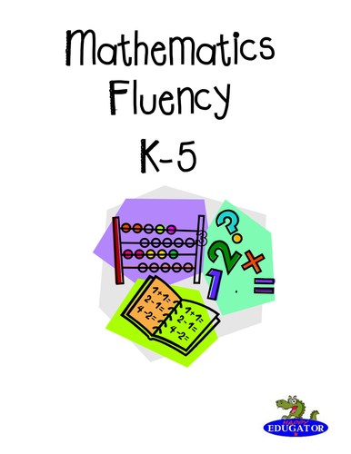 Math Fluency Assessments and Progress Monitoring Sheets - Basic Facts