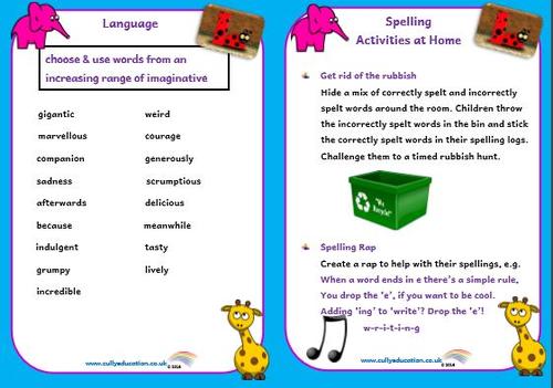 Y4 Grammar Booklet for Parents