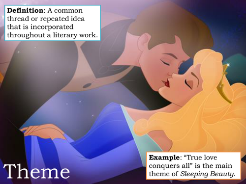 Literary Techniques Display (Using Disney)