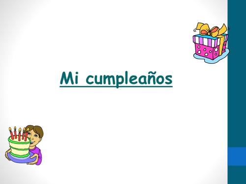 KS2 - Dates and birthdays