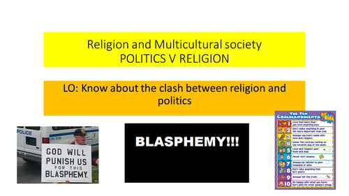 AQA RS GCSE  SPEC B Unit 1 Politics v Religion Topic 4 Religion and Multicultural Society