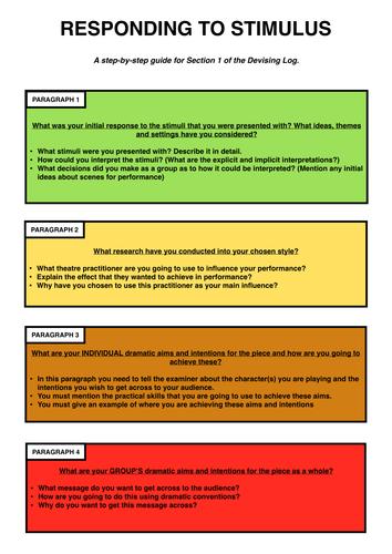 Gcse drama coursework help
