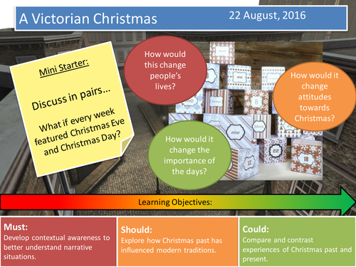 A Christmas Carol- Charles Dickens (Lesson 1)