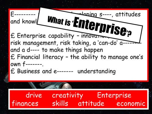 Enterprise - setting up new companies
