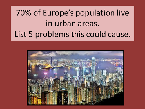 Growth of Megacities - Urban Issues and Challenges