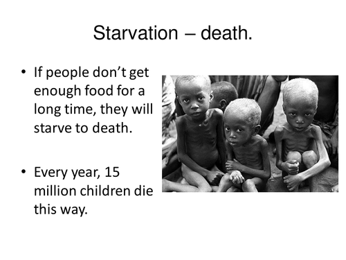 Famine - Geographies of Health
