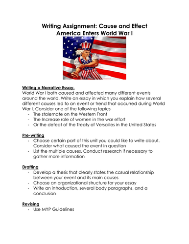 causes of ww1 essay introduction