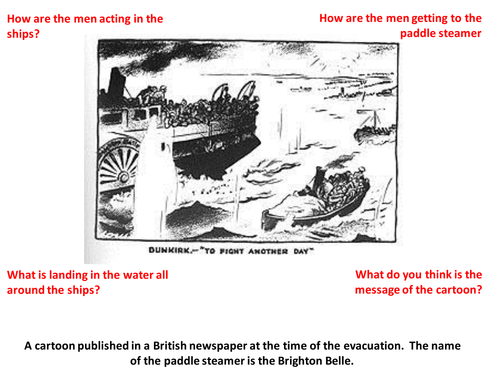 Dunkirk: Victory or Defeat? Newspaper Task with supporting resources