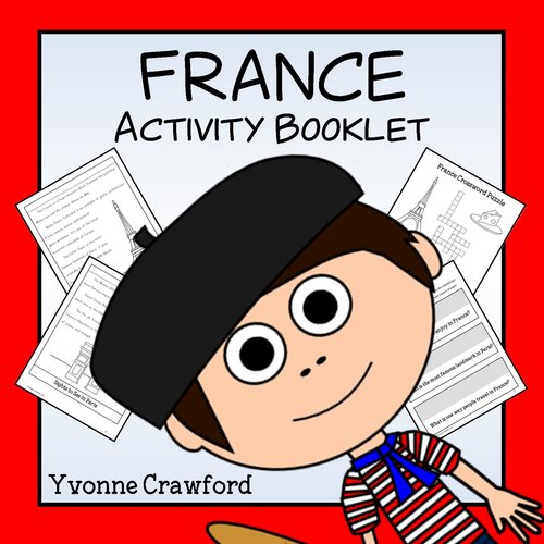 France Copywork and Activities