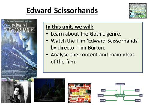 Edward Scissorhands Complete Film Study for English