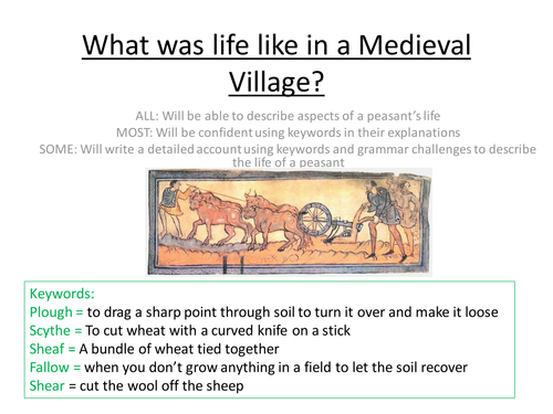 The Life of the Medieval Peasant/Villein
