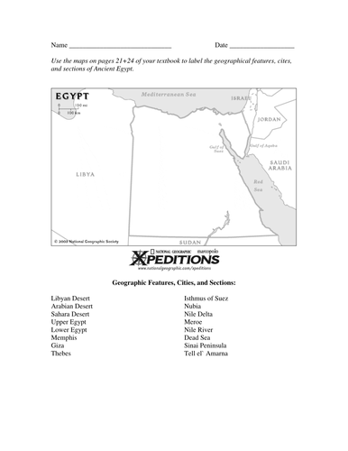 Ancient egypt nile river valley geography and map activity with ancient egypt nile river valley geography and map activity with key worksheets by linni0011 teaching resources tes ibookread PDF