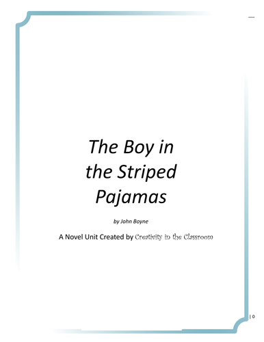 How To Write A Thesis Statement For An Essay Novel Unit For The Boy In The Striped Pajamas Into The Wild Essay Thesis also Content Writer Dehumanization In The Boy In The Striped Pyjamaspajamas Lesson By  English Essay My Best Friend