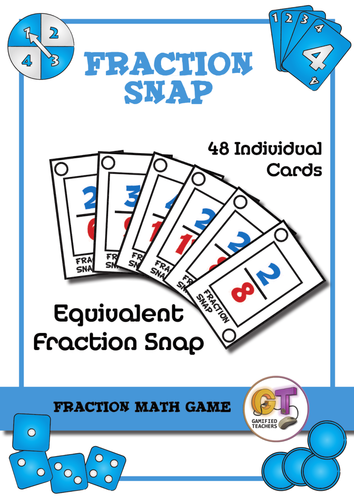 Math Game - Fraction Snap