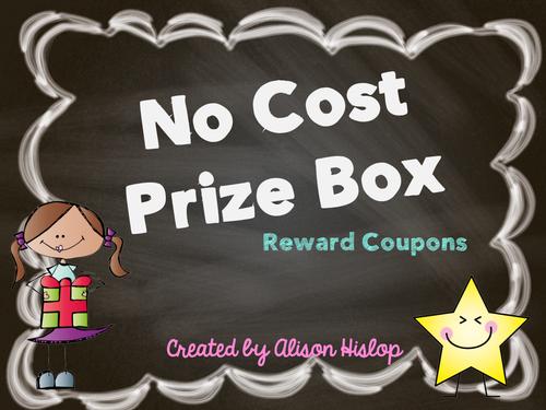 No Cost Prize Box