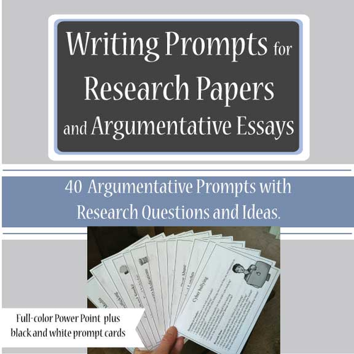 argumentative style research paper Join judy steiner-williams for an in-depth discussion in this video, argumentative papers, part of writing a research paper.