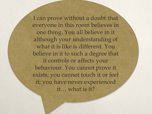 The nature of belief