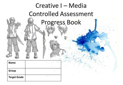 I Media Students Progress Book