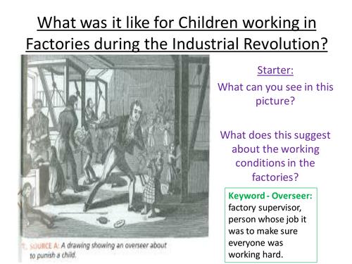 Children in Factories during the Industrial Revolution