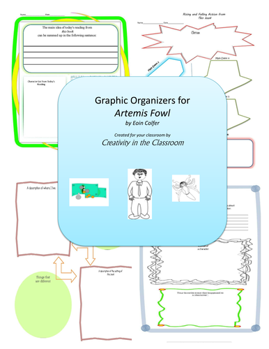 Graphic Organizers for Artemis Fowl