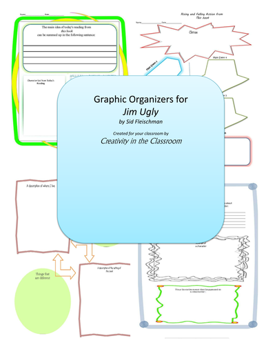 Graphic Organizers for Jim Ugly