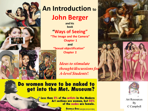 Long Essays John Berger Ways Of Seeing For Alevel Students Image Or Relic Or Photo  Naked Or Nude By Cccamp  Teaching Resources  Tes Poverty Definition Essay also Essay Check John Berger Ways Of Seeing For Alevel Students Image Or Relic Or  Merchant Of Venice Shylock Essay