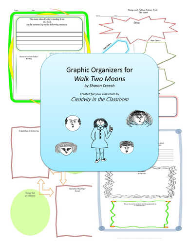 Graphic Organizers for Walk Two Moons