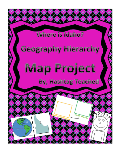 Where is Idaho Geographic Hierarchy Map