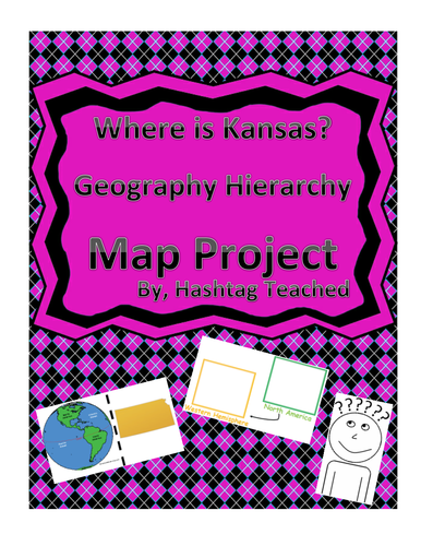 Where is Kansas Geographic Hierarchy Map