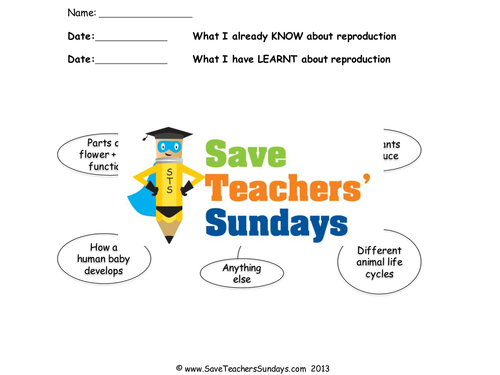 Save Teachers Sundays Teaching Resources Tes