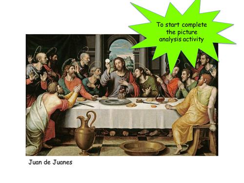 The sacraments - eucharist - holy communion
