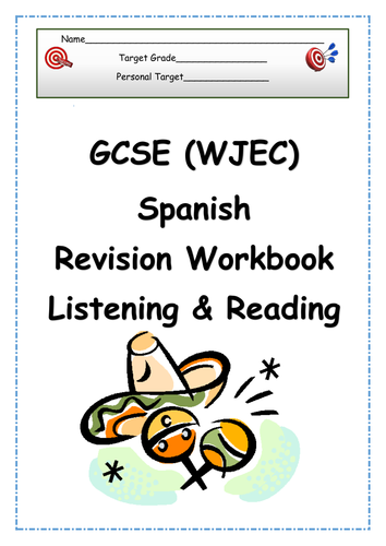 gcse spanish revision vocabulary writing reading tes. Black Bedroom Furniture Sets. Home Design Ideas